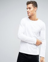 Lindbergh Slub Long Sleeve Top
