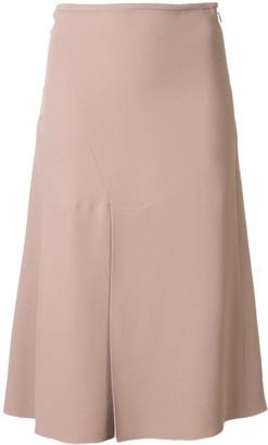 No.21 Flared Midi Skirt