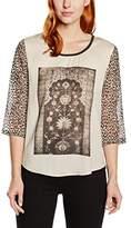 Maison Scotch Women's Long-Sleeved Shirt - Multicoloured -