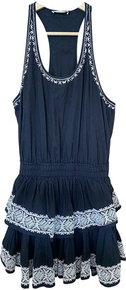 LoveShackFancy Black Cotton Dresses