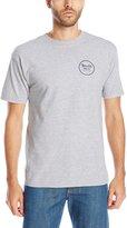 Brixton Men's Wheeler II Short Sleeve T-Shirt, Heather Grey