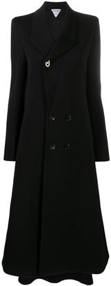 Bottega Veneta Flared Long Coat