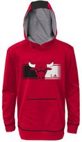 adidas Boys 8-20 Chicago Bulls Pullover Hoodie