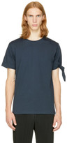J.W.Anderson Navy Single Knot T-shirt