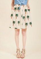 Palm and Collected Mini Skirt in S