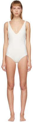 Totême Off-White Melissa One-Piece Swimsuit