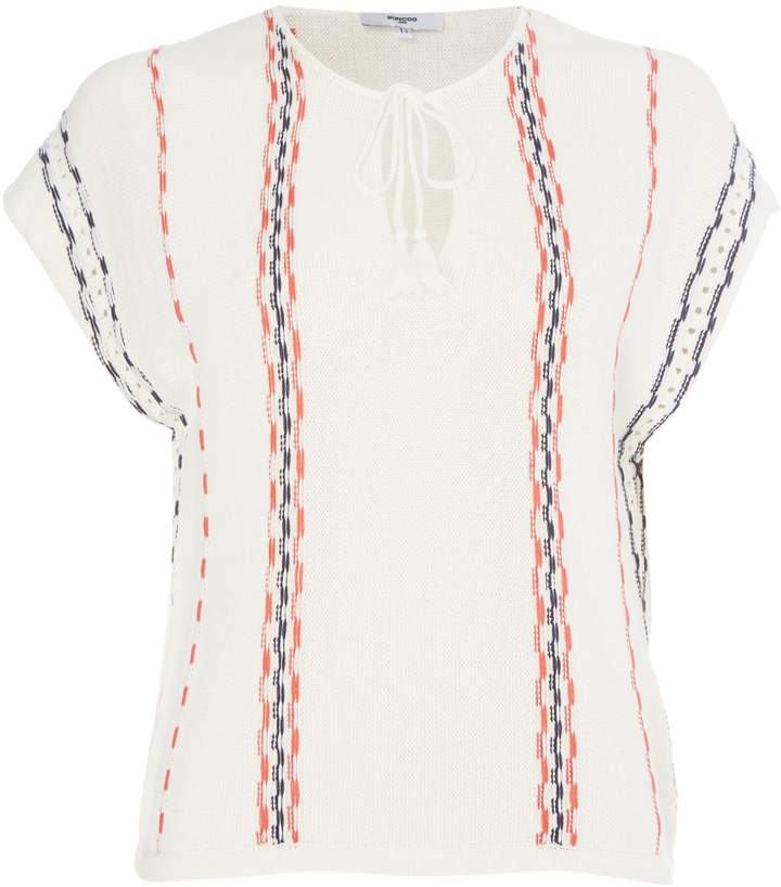 Suncoo Paquerette Short Sleeve Stripe Top