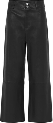 West 14th Prospect Pant Black Stretch Leather