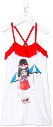 Little Marc Jacobs Cartoon Print Dress