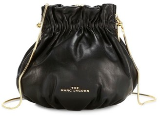 Marc Jacobs The Soiree Leather Bucket Bag