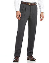 Roundtree & Yorke Travel Smart Ultimate Comfort Classic-Fit Pleated Non-Iron Dress Pants