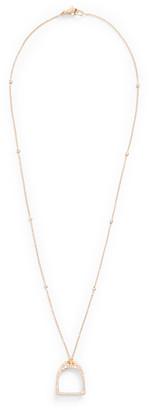 Ralph Lauren Pave Diamond Necklace