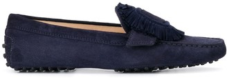 Tod's Buckle-Embellished Loafers
