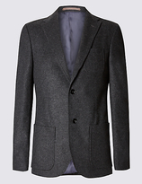 Collezione Single Breasted Jacket With Cashmere