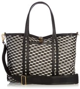 Pierre Hardy Cube-print coated-canvas tote