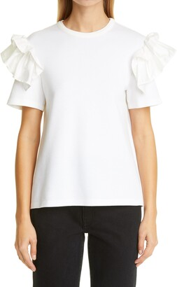 ADEAM Ruffle T-Shirt