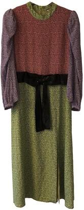 Olivia Rubin Multicolour Silk Dresses