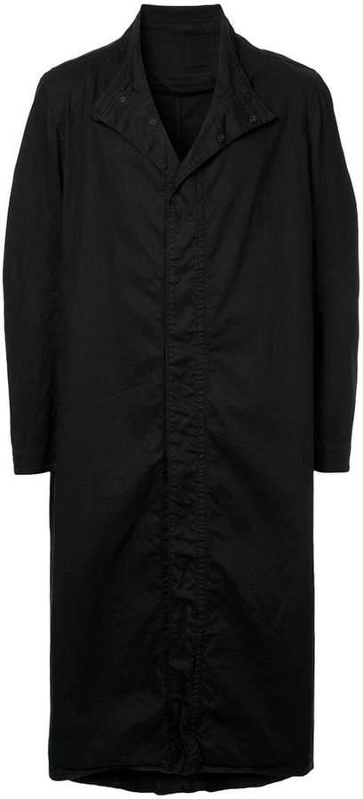 Julius standing collar long coat