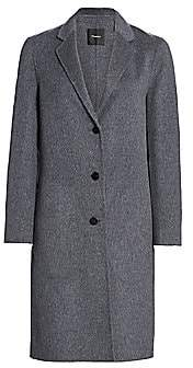 Theory Women's Classic Double-Faced Wool Coat