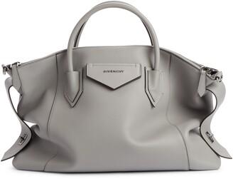 Givenchy Antigona Soft Medium Leather Satchel