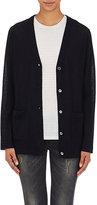 6397 Women's Cashmere V-Neck Sweater-Black