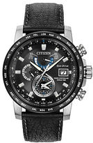 Citizen World Time A-T Atomic Stainless Steel Watch, AT9071-07E
