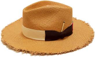 Nick Fouquet Melisande Straw Fedora Hat