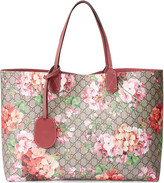 Gucci reversible GG Blooms leather tote