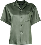 G.V.G.V. satin shortsleeved shirt - women - Rayon - 36