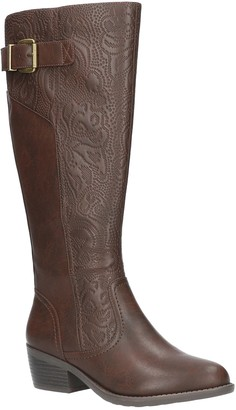 Easy Street Shoes Wide-Calf Tall Boots - Arwen Plus