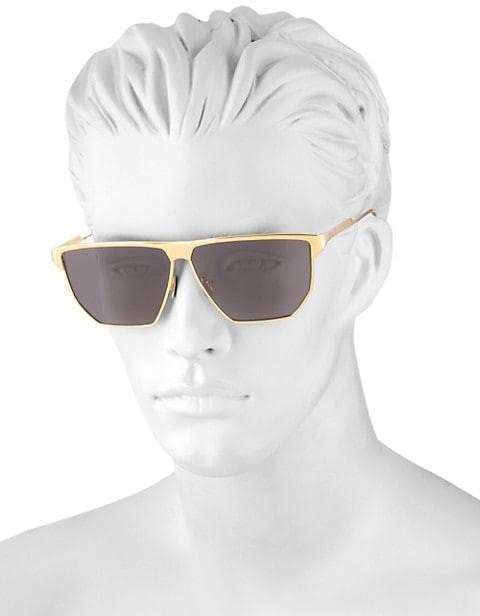 Thumbnail for your product : Bottega Veneta 58MM Flat-Top Geometric Sunglasses