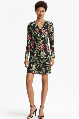 French Connection Bluhm Drape Jersey Dress