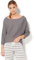 New York & Co. Lounge - Ribbed-Knit Dolman Sweater