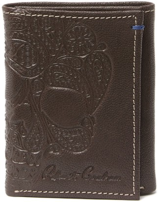 Robert Graham Recon RFID Leather Trifold Wallet