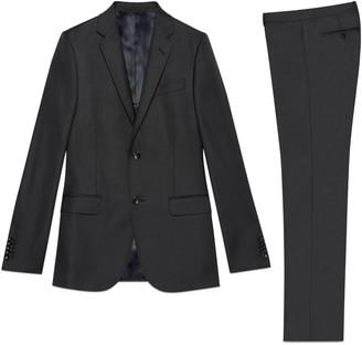 Gucci Stretch wool Monaco suit