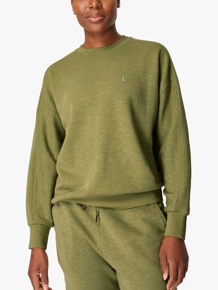 Sweaty Betty Essentials Sweatshirt, Fern Green