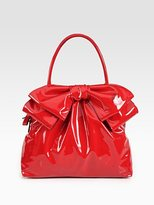 Valentino Lacca Bow Dome Bag