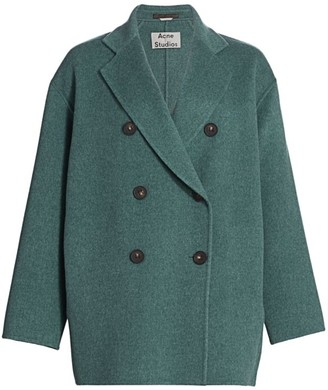 Acne Studios Double-Breasted Wool Jacket