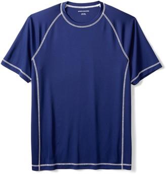 Amazon Essentials Men's Short-Sleeve Quick-Dry UPF 50 Swim Tee