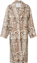 ADAM by Adam Lippes Ocelot cocoon coat
