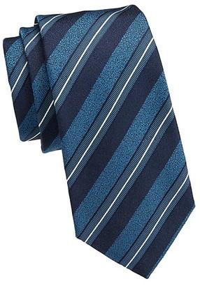 Emporio Armani Multi Stripe Silk Tie
