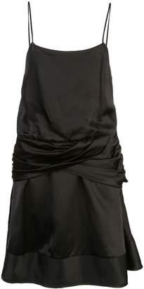 Derek Lam 10 Crosby Twist Detail Mini Dress