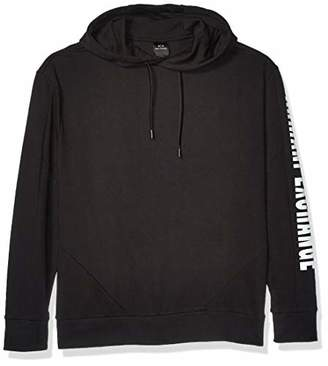 Armani Exchange A|X Men's Color Block Pullover Hoodie