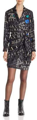 Max Mara Zac Silk Wrap Dress