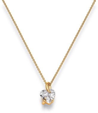 Viventy Women's Pendant Silver Gold-Plated Rhodium-Plated White Zirconia - 772102