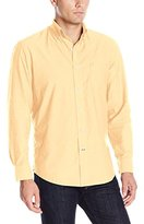 Izod Men's Oxford Solid Long Sleeve Shirt