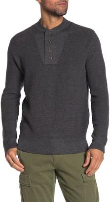 Grayers Wadsworth Wool Blend Sweater Henley