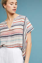 Love Sam Yarn-Dyed Stripe Blouse