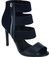 Charles by Charles David Charles David Wide Strap Leather & Suede High Heel Sandals- Itano