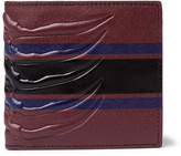 Alexander Mcqueen - Ribcage-embossed Leather Billford Wallet
